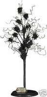Primitive Black Wire Tree Halloween Decoration Prop