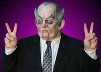 President Richard Nixon Monster Halloween Costume Mask