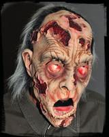 Gory Pealing Flesh Zombie corpse Halloween Costume Mask