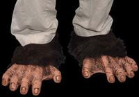 Chimp Monkey Ape Shoe Covers Halloween Costume Feet Accessories Shoe Covers