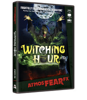 Witching Hour Animated Wicked Witch Special Effects Haunted Projection TV DVD Halloween Decor