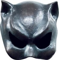 Cat Woman Girl Feline Face Latex Halloween Costume Half Mask