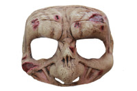 Comfortable Zombie Corpse Face Latex Halloween Costume Half Mask
