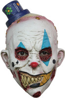 Kids Mimezack Clown Mime Halloween Costume Mask