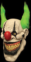 Zippo the Evil Circus Freak Clown Halloween Costume Mask