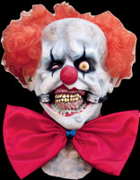 Smiley the Evil Circus Freak Clown Halloween Costume Mask