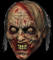 Biter Gory Zombie Corpse Walker Gore Halloween Costume Mask