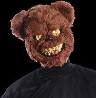 Ted Deadly Evil Bear Bloody Doll Halloween Costume Mask