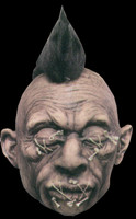 Realistic Shrunken VooDoo Head A3 Real Hair Latex Halloween Prop