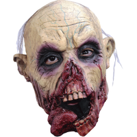 Zombie Tongue Jr. Corpse Undead Gore Child's Size Halloween Costume Mask