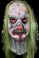 Rob Zombie Zombie's 31 Psycho Head Clown Killer Halloween Costume Mask