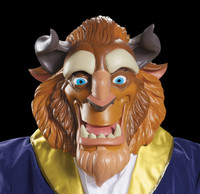 Beauty and the Beast Movie Cartoon Halloween Mask