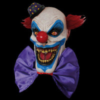 Chompo the Circus Clown Insane Evil Serial Killer Halloween Costume Mask