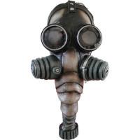 Alien Creepy Hazmat Chemical Black Gas Mask Bio Hazard Halloween Costume Mask