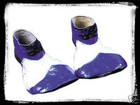 B&W Insane Clown Posse Juggalo Halloween Costume Shoes
