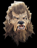 Werewolf Wolfman Moon Moving Mouth Halloween Costume Mask