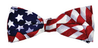 Uncle Sam Boe Tie Patriotic America USA 4th of July Halloween Costume Accessory
