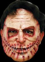 Realistic Serial Killer #9 ADT Human Flesh Cut Sown Halloween Costume Face Mask
