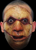 Realistic Serial Killer #3 ADT Human Flesh Cut Sown Halloween Costume Face Mask