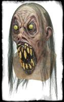 Possessed Nightmare Creature Gaping Mouth Huge Teeth Halloween Costume Mask
