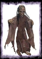 Little Creeper Zombie Walking Dead Marionette Puppet Halloween Prop Decoration