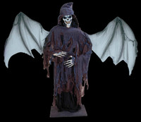 "Life Size Satanding 80"" Lord of Death Reaper Halloween Prop Decoration Decor"