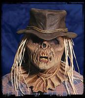 Intense Evil Zombie Scarecrow Halloween Costume Mask