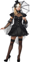 Sexy Gothic Victorian Doll Dress w/ Accessories Halloween Costume