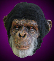 Extreme Realistic Chimp Monkey Ape Chimpanzee Primate Halloween Costume Mask