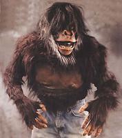Chimp Monkey Ape Plush Chest Halloween Costume Torso