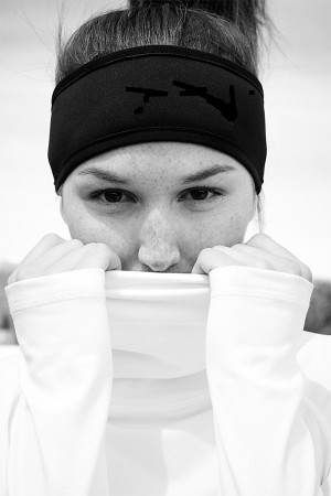 Black Sports Headband 1