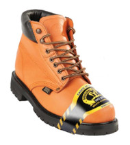Original Michel Boot Co. Nappa Leather Hiking Work Boot - Heavy Duty Tread & Steel Toe