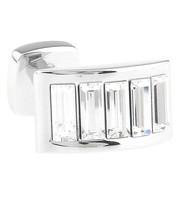 Diamond-Colored Swarovski® Crystal Arch Cufflinks (V-CF-C900C)
