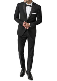 Paul Betenly 2-Button with Flat Front Slacks Tuxedo - Slim Fit