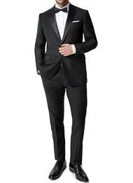 Paul Betenly 1-Button with Flat Front Slacks Tuxedo - Classic Fit