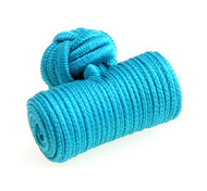 Turquoise Silk-Knotted Knob Cufflinks (V-CF-40146)