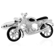 X-Large Motorcycle Cufflinks (V-CF-71012S)