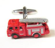 X-Large Red Fire Truck Cufflinks (V-CF-M58194)