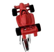 Large Red Racing Car Cufflinks (V-CF-61135R)