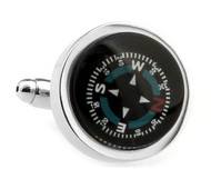 Functioning Compass Cufflinks (V-CF-0539)