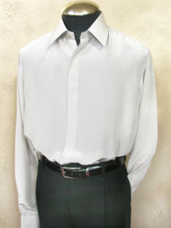 Bocci Long Sleeve 100% Pure Silk Shirt