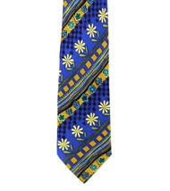 Outlet Center: Antonio Ricci 100% Printed Silk Italian Tie - Mod Daisy Flowers