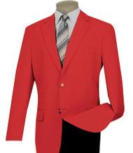 Lucci 2-Button Red Blazer