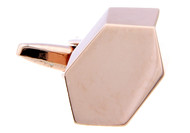 Geometric Rose Gold Cufflinks (V-CF-67559-RG)