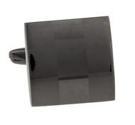 Lasered Etched Square Tungsten Cufflinks (V-CF-M62866-T)