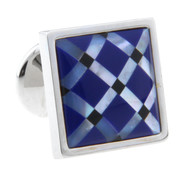 Mosaic Gemstone Cross Pattern Cufflinks (V-CF-G66256-2-1)