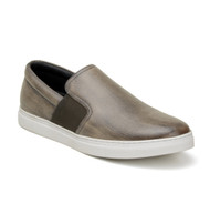 Belvedere Calf Leather Slip-On Casual Shoe - Bronze