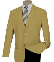 Lucci 2-Button Gold Blazer