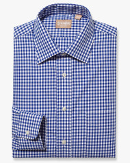 Dark Blue & White Gingham