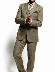MaxDavoli 2-Button Super 150's Wool Sharkskin Suit